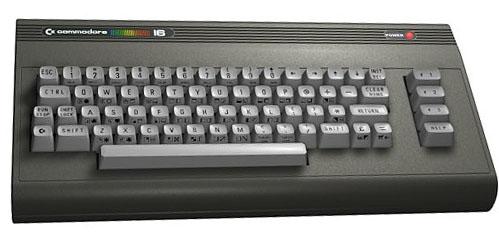 Ordenador Commodore C16