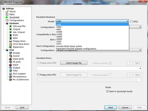 WinUAE - Emulador Amiga