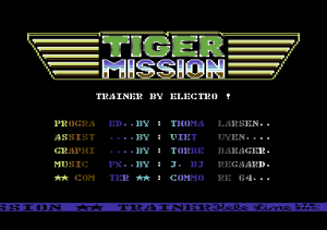 tiger mission
