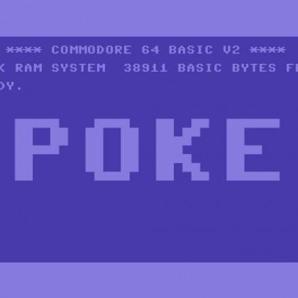 Commodore POKE