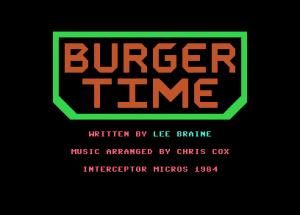 Burguer Time - Presentación