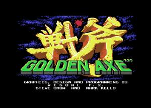 Golden Axe - Presentación