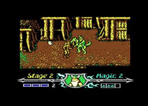 Golden Axe - Captura juego