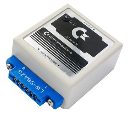 uCassette Commodore 64
