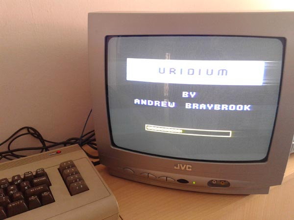 uridium commodore 64
