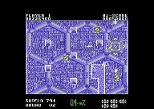 Volfied - Taito (Commodore)