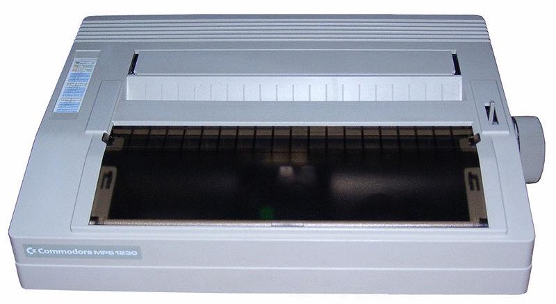 Commodore  MPS1230