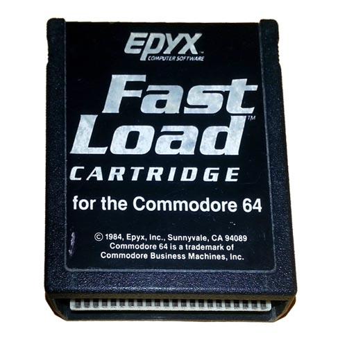 Cartucho Fast Load - Epyx