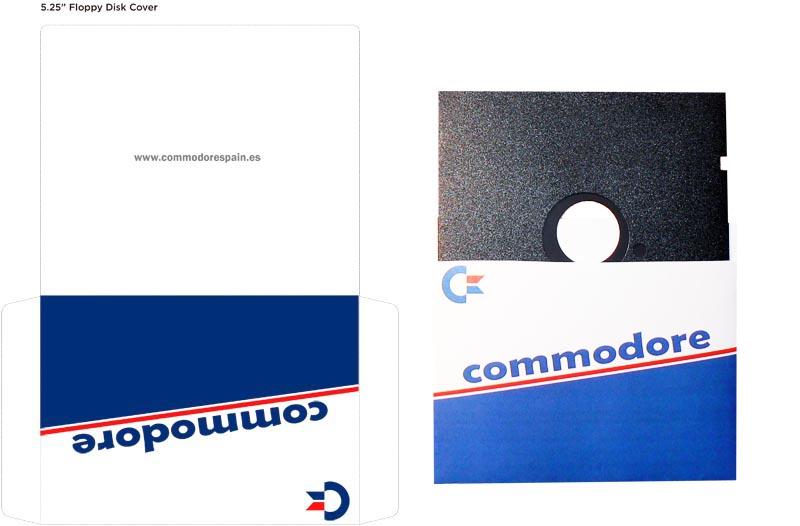 Plantilla Disco 5 pulgadas - Modelo1 + Diskette