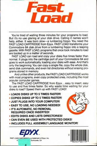 Trasera box Fast Load Epyx