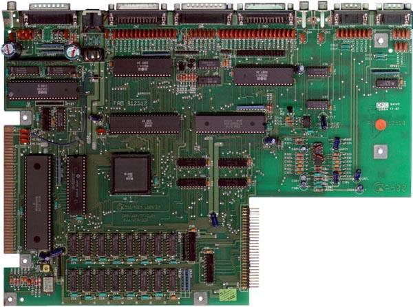 MotherBoard Amiga 500 Rev 3