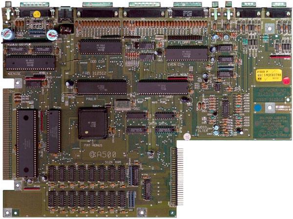 MotherBoard Amiga 500 Rev 5