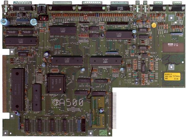 MotherBoard Amiga 500 Rev 6