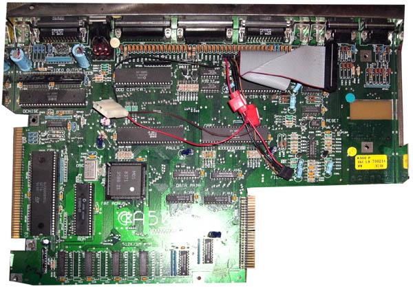 MotherBoard Amiga 500 Rev 7