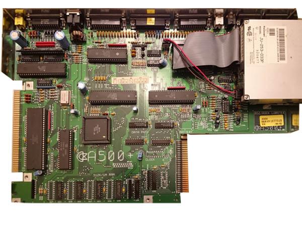 MotherBoard Amiga 500 Rev 8A
