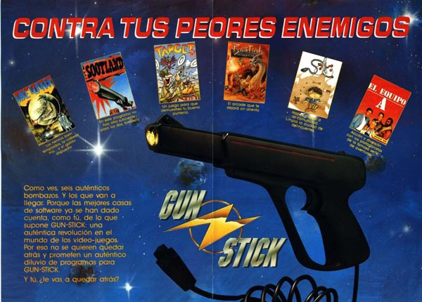 Anuncio Gunstick