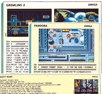 Cargadores Amiga