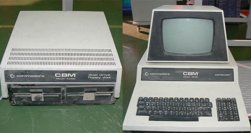 CBM 4032 y CBM 4040