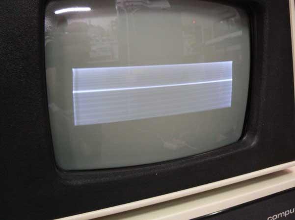 Fallo monitor CBM 4032