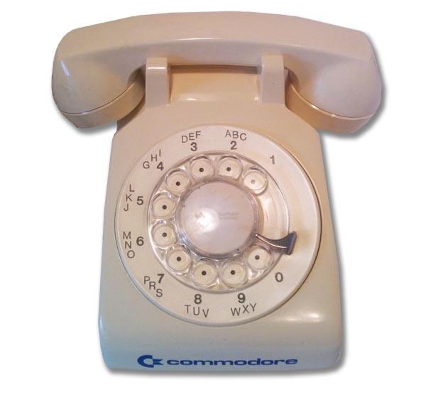 Teléfono Commodore