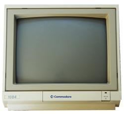 Monitor Commodore 1084