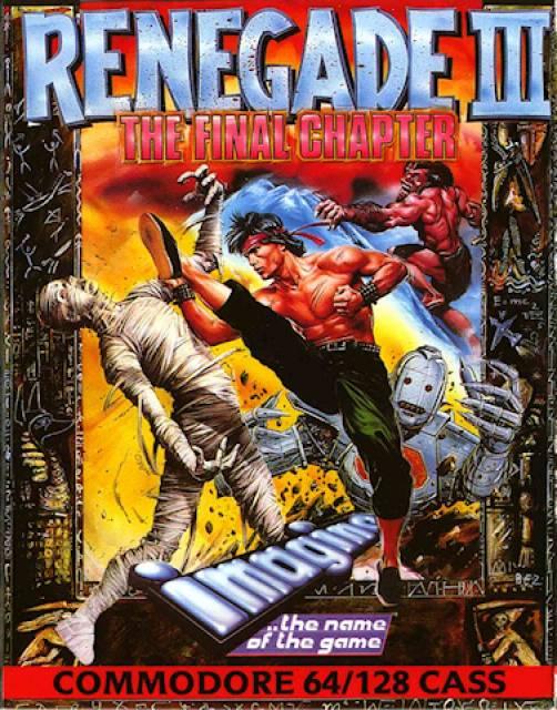 Portada Renegade III - Commodore 64