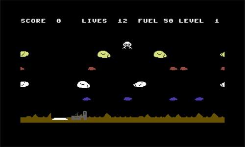 Asteroides Lander - Juego