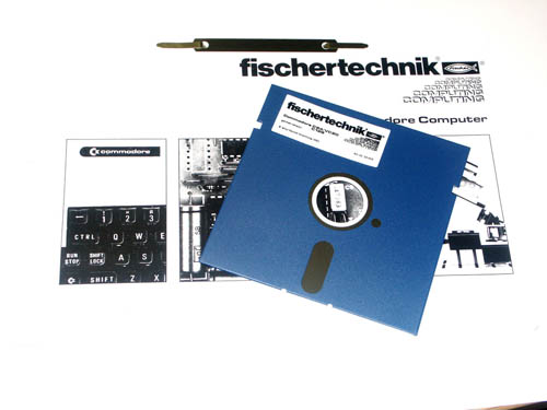 Interface y Sofware Fischertechnik Para Commodore (1)