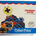 Numeros locos - Fisher Price - Commodore 64