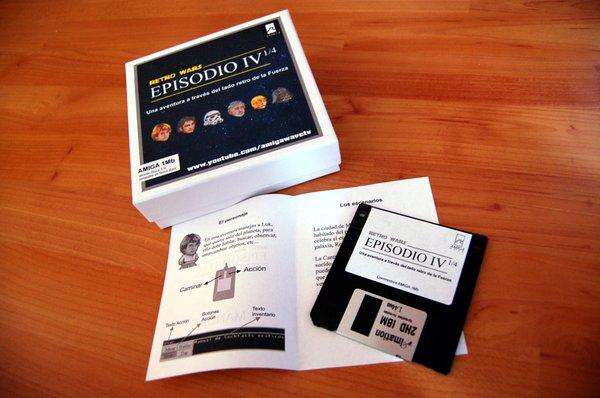 Pack físico Retro Wars (Amigawave)