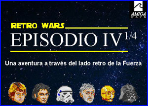 Presentación Retro Wars Amiga Wave