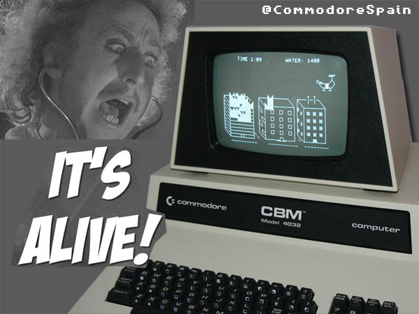 Restauración completa Commodore Pet CBM 4032
