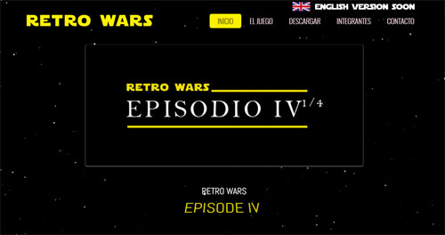 Web Retro Wars Amigawave