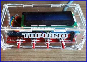 Presentación Tapuino commodore