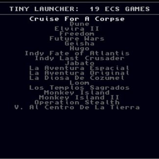 Tiny Launcher 19in1 Amiga Collection