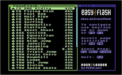 EasyFlash Olympic Games 36in1