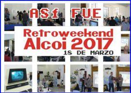 Presentación retroweekend alcoi 2017
