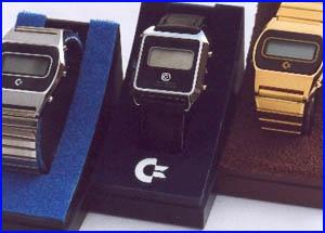Presentación relojes de commodore