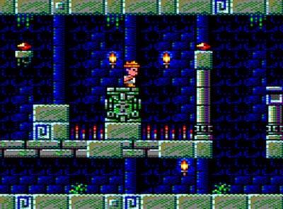 El tesoro de cuauhtemoc – Amstrad