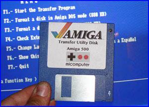 Presentación Transfer Utility Disk Amiga ADF