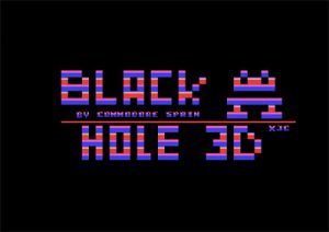 Black Hole 3D - Commodore 64