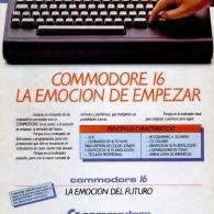Anuncio Commodore 16 – La emoción de empezar