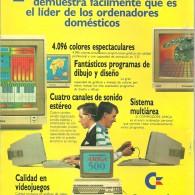Anuncio del  Amiga 500
