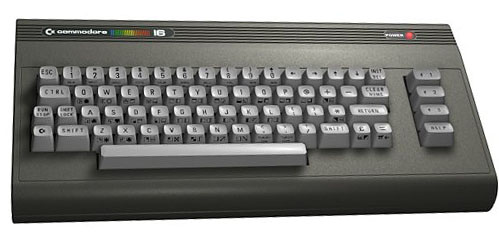 Commodore 16 Frontal