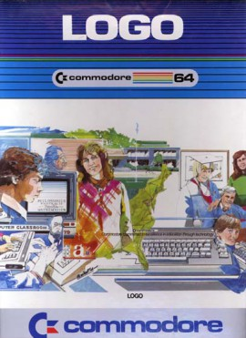 Caja paquete Software C64 – Logo