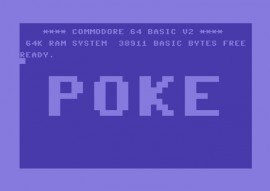 Commodore POKE