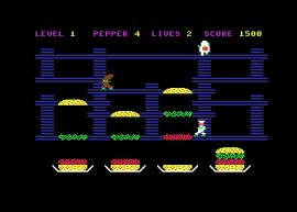 Burguer Time – Commodore