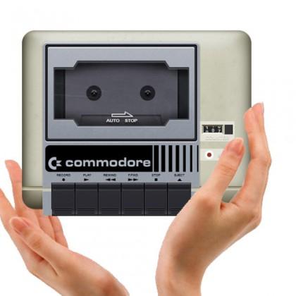 datassette commodore + manos