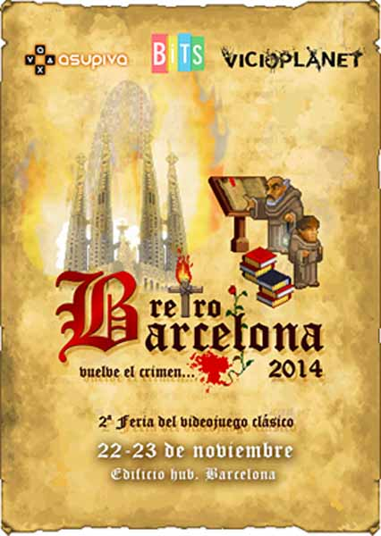 cartel retrobarcelona 2014