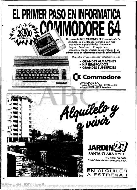 Colección publicidad Commodore – 07
